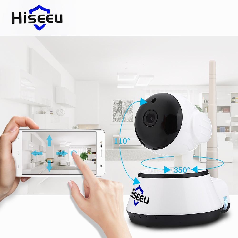 bilder für Hiseeu hsy-fh2e hd 720 p wifi 1.0mp ip kamera motion detection night vision mini drehbare ir-cut pan/tilt mit 2-wege-audio cctv