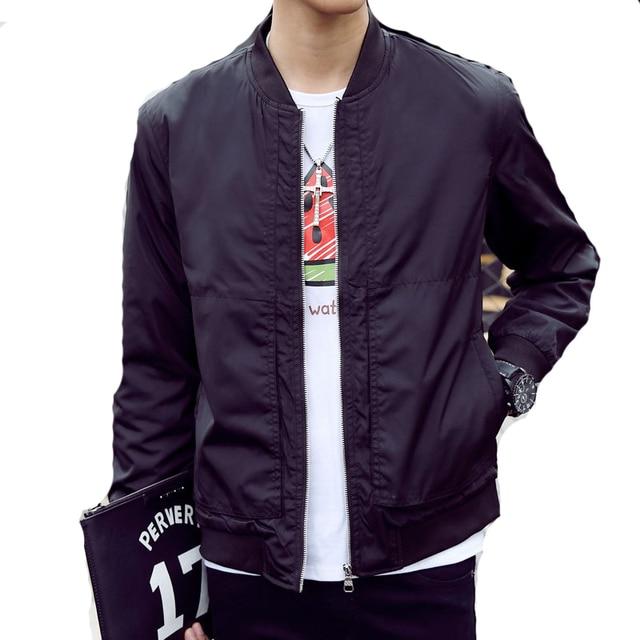 2016 Latest Spring Men Baseball Bomber Jacket Plus Size 4XL Veste