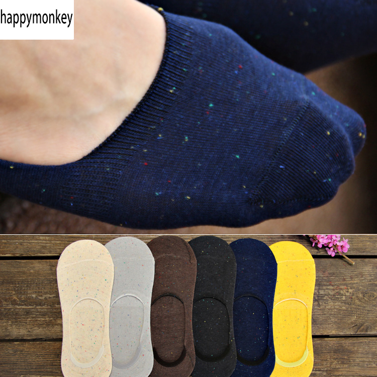 2015 summer new arrived 10 pieces=5 pairs Silicone antiskid invisible socks, new men socks, nice men sokcs slippers