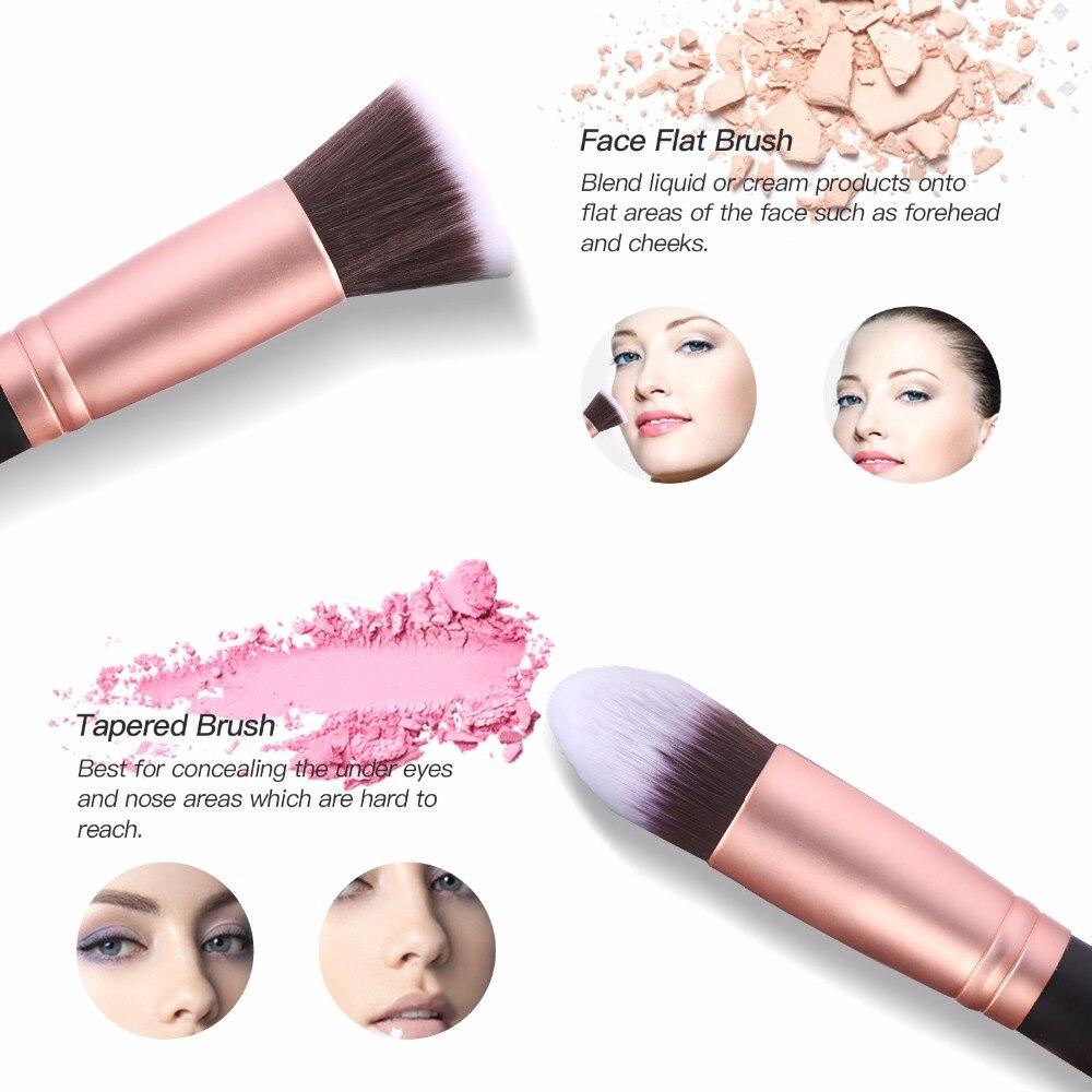 16Pcs Makeup Brushes Set The Shadows Cosmetics Makeup Tools Eyeshadow Eyeliner Lip Make up Brush Maquiagem Maquillaje 5