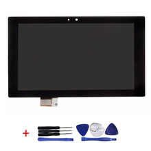 Original 100% test lcd-bildschirm und touch digitizer assembly für sony xperia tablet z 10.1 sgp311 sgp312 sgp321
