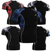 Life on track Mens Multi Function Men'S Short Sleeve Crew Neck Athletic Clothe Fitness Running Shirts Sports Jersey Design Top