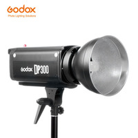 Godox DP300 Flsdh Speedlite 300WS Pro Photography Strobe Flash Studio Light Lamp Head (Bowens Mount) for Wedding Photography