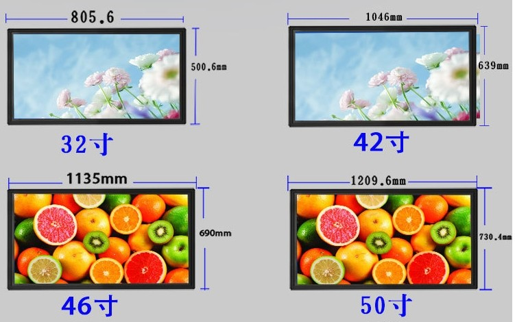 55 65 75 inch TV set monitor display 4K led android smart curved LED television TV
