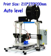 3DP-12-BK High Precision Aluminum Frame Auto Leveling Reprap Prusa i3 DIY 3D Printer use to10 materials