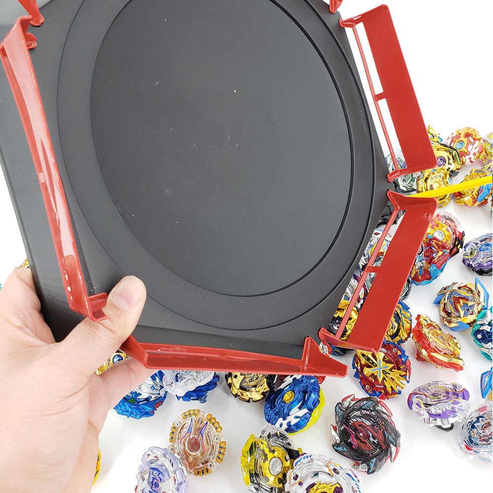 Topos conjunto lançadores beyblade brinquedos toupie metal deus explosão girando topo bey blade blade brinquedo bay blade bables 4862310