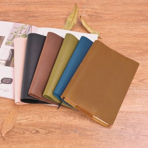 Image 4 - Vintage Genuine Leather Notebook Diary Cover A5 A6 size Handmade Protective Journal Cover Cowhide Sketchbook Planner