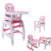 (Ship from Germany) 3 in 1 Multi Highchair Baby High Chair for baby Feeding Learning Table Swing