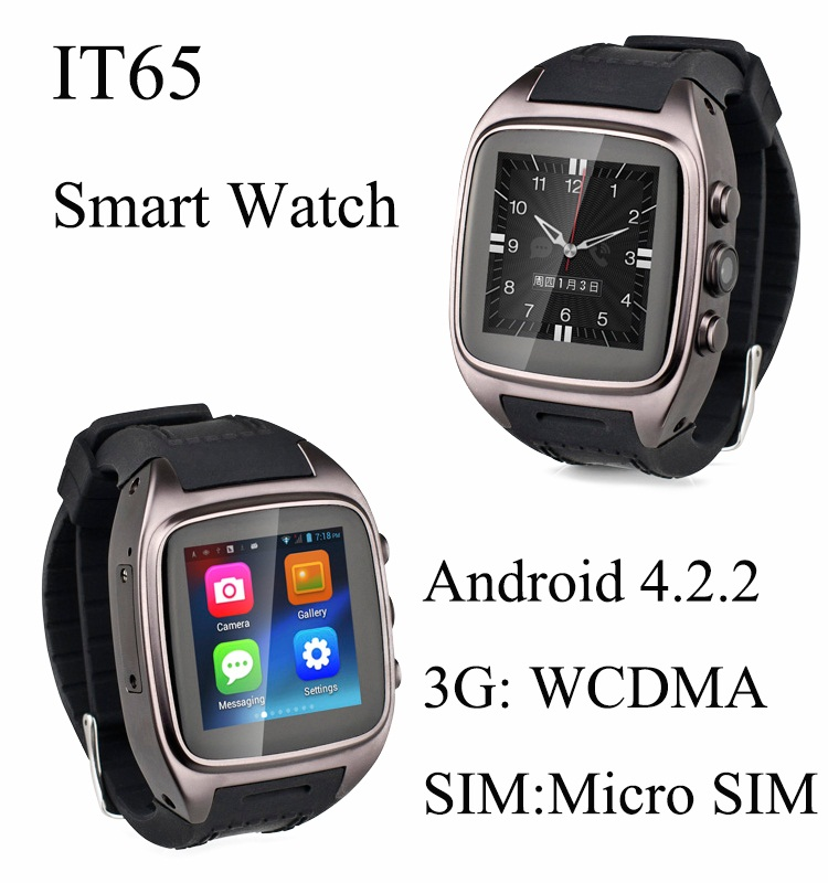 2015 Newest PW306 Android Smart Watch 1 54inch WristWatch with 5 0MP Camera WiFi GPS Bluetooth