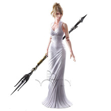 Final Fantasy XV Lunafreya Nox Fleuret Play Arts Kai Action Figure dc comics play arts kai batman rogues gallery two face double face action figure toys 29cm