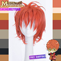 Heat Resistant Game Mystic Messenger 707 Short Costume Full Lace Cosplay Wig (Need Styled) +Free CAP