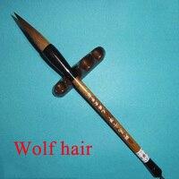 Wolf haar schilderij borstel wit Chinese Kalligrafie Harde Borstel Art schilderen supply