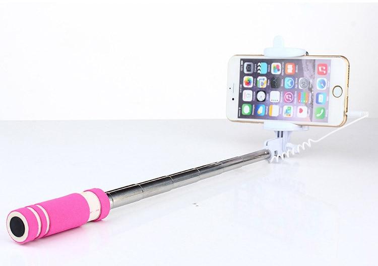 Hot Portable Mini Folding Mobiltelefon Kablet Selv Selfie Sticks For - Kamera og foto - Foto 5