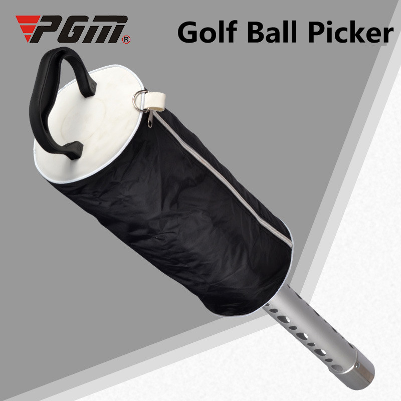Golf Ball Picker Nylon Aluminum Alloy Hiqh Quality 6 inch Golf Ball Picker golf ball sample display case