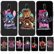 Luxury Marvel venom stitch joker Custom For One plus 5 5T 7 Pro Oneplus 6 6T phone Case Cover Funda Coque Etui capa flamingo owl