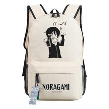 715d16ccbb Japan Anime Noragami Spiel Rucksack Tasche Spiel Schule Buch Tasche Unisex  Laptop Tasche Halloween Cosplay Cartoon Rucksack Weih.