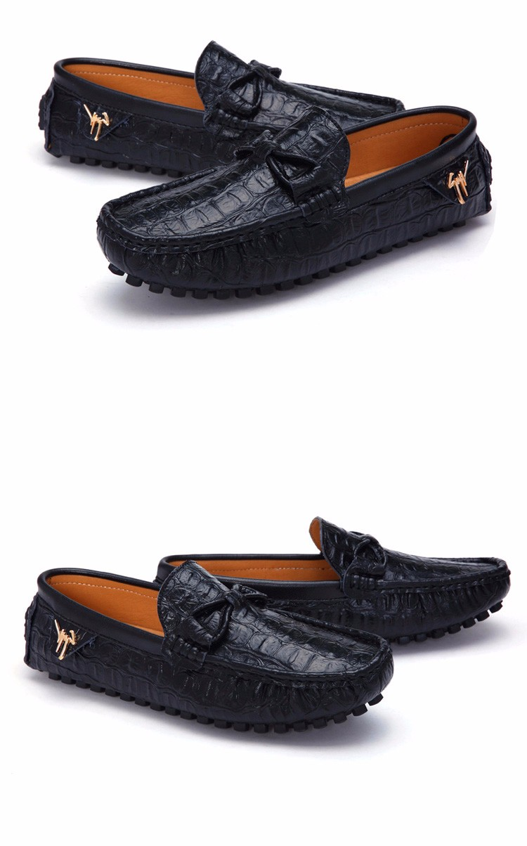 2016 KUYUPP Fashion Genuine Leather Men Loafers Casual Slip On Flats Summer Flat Heels Men Driving Shoes mocassin homme H48 (23)