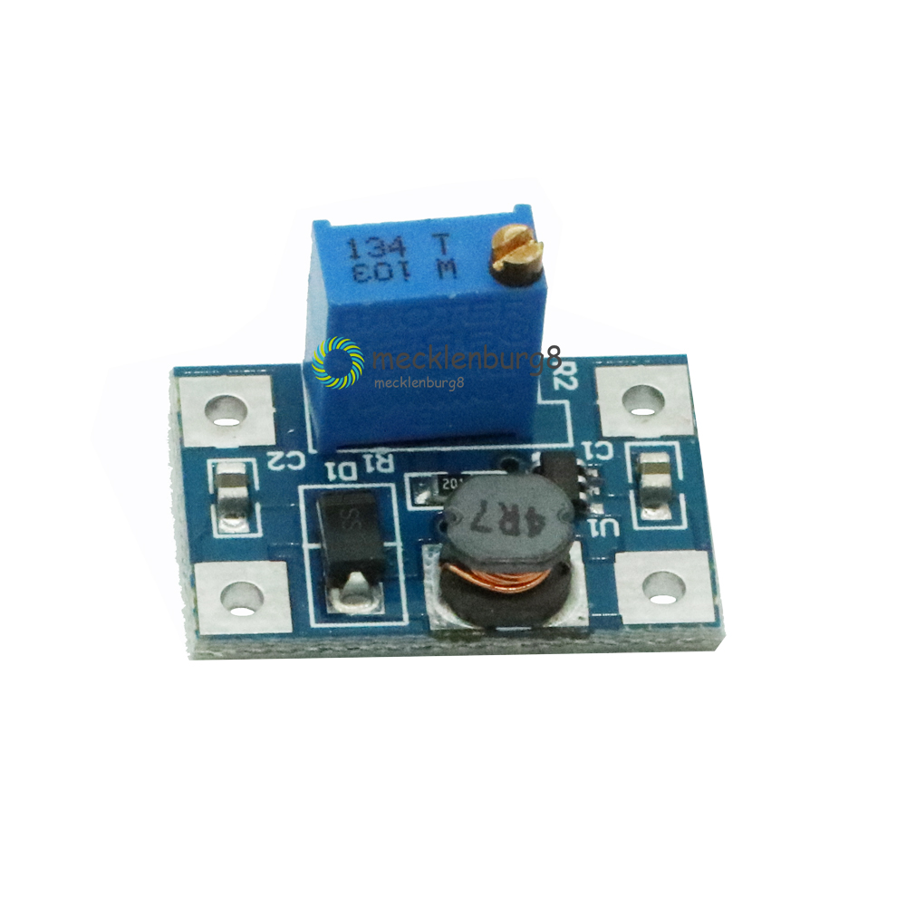 Automatic Protection! 5 Pieces. Max 2A Step Up Boost Power Module Sx1308 Adjustable DC-DC 2-24 V 2 -28 V Boost Converter For Ard
