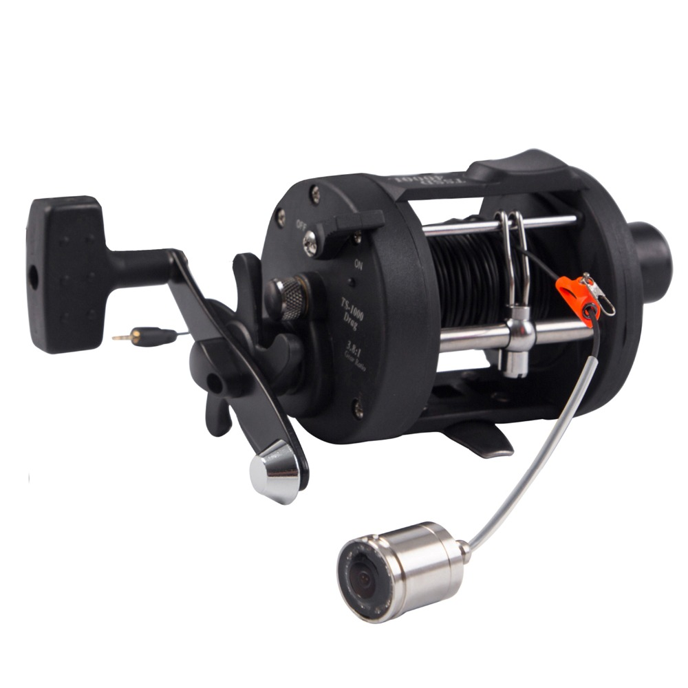 SYANSPAN Light Fishing Reel Plastic Body Fly Ice Sea Fish Wheel Reel Fly Reel Fishing Line Reel for fishing finder camera-in Fishing Reels from Sports & Entertainment    1