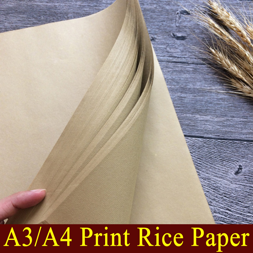 A4/A3 Archaize Chinese Print rice paper Painting calligraphy xuan zhi paper art supplies александер л хроники придайна книга 4 тарен странник