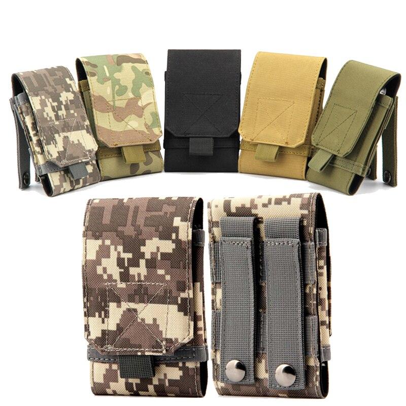 Nueva nylon militar del ejército tactical funda para iphone 5/5s 6/6 s más acces