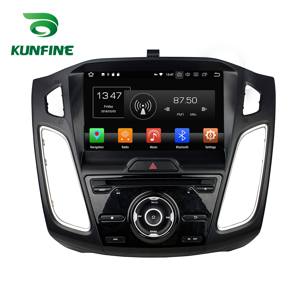купить Octa Core 4GB RAM Android 8.0 Car DVD GPS Navigation Multimedia Player Car Stereo for Ford Focus 2012-2016 Radio Headunit WIFI
