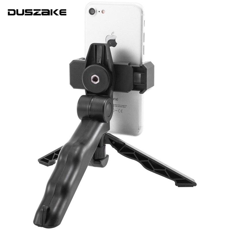 DUSZAKE P13 Live Desktop Mini Phone Tripod For Mobile Phone Tripod For IPhone Samsung Xiaomi Camera Mini Tripods For Phone