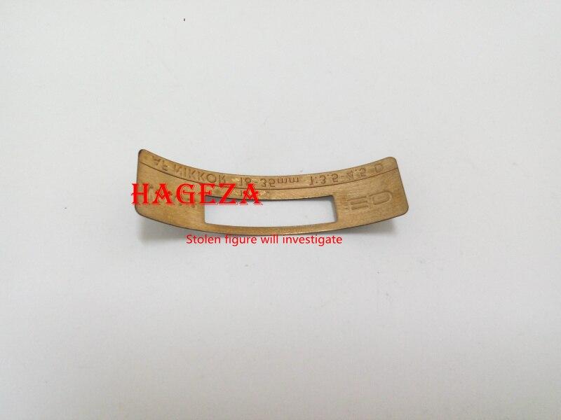 Plaque d'étiquettes de plaque signalétique de Fuselage d'objectif nouveau et Original pour Nikon AF Nikkor 18-35 18-35mm pièce de réparation d'appareil photo F3.5-4.5D 1K087-467