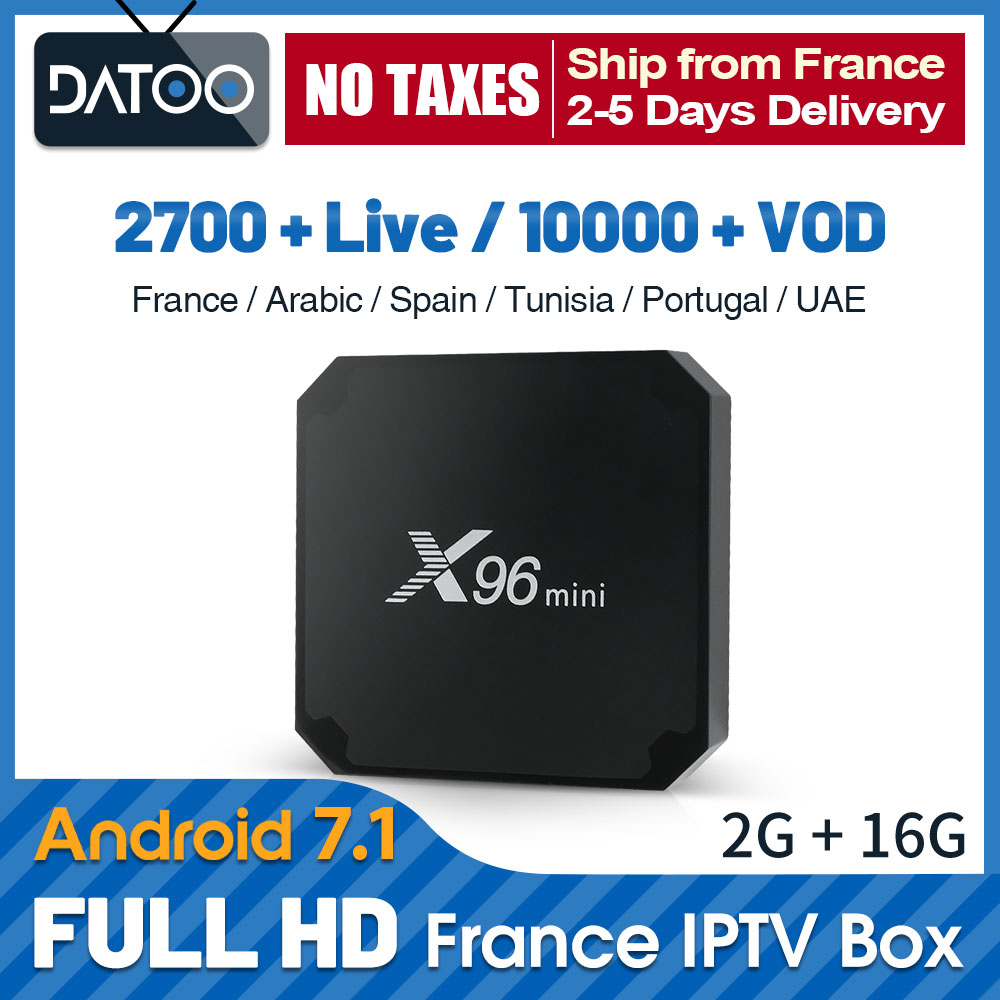 X96 mini IPTV Italian French IP TV Morocco Belgium Subscription Box Qatar Arabic France UAE Algeria