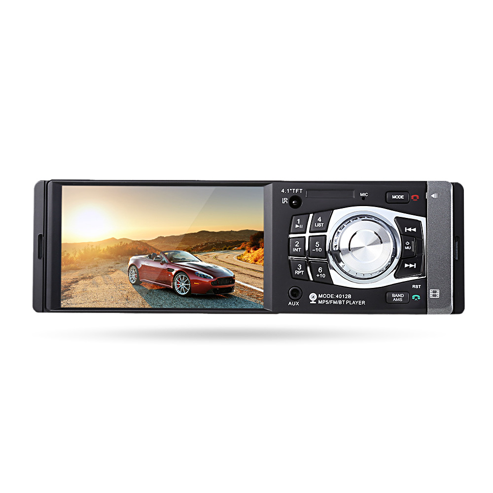 4012B 1 Din 4 1 inch Car DVD Video Player 12V Vehicle mounted MP5 Player Radio