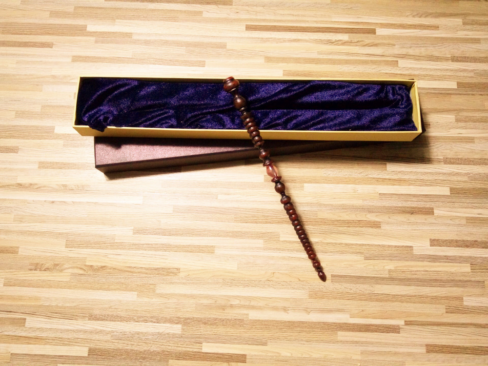 Жаңа нұсқасы Quality Metal Core Deluxe COS Hot Dolores Happy Potter Джейн Умбридж сиқырлы шкатулка Cosplay Wand