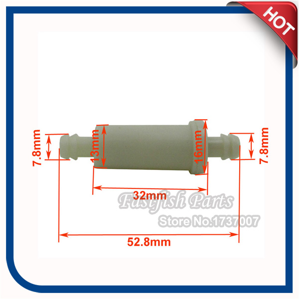Small In Line Fuel Filter For Chinese Pit Dirt Bike Polaris