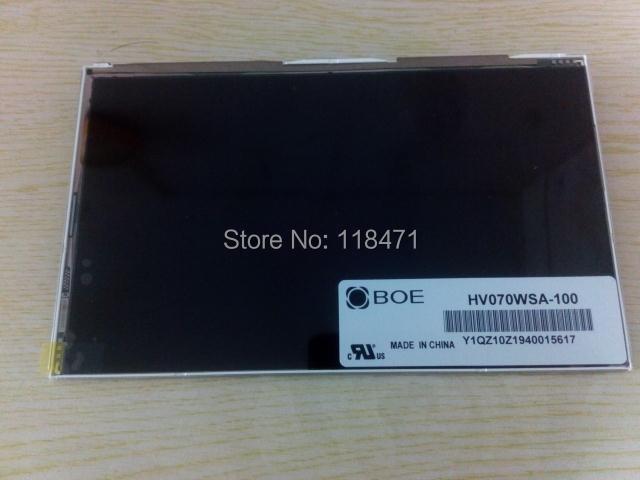 7.0 pouces TFT LCD panneau pour BOE HV070WSA-100 LCD panneau 1024*600 LVDS LCD affichage FFS LCD écran 1ch 8-bit 40 broches