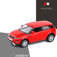 High Simulation 1:36 Alloy Evoque SUV Diecast Car Toy Model Vehicles With Pull Back For Kids Toys Free Shipping(China)