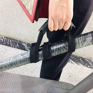 Image 3 - المحمولة اليد قبضة سجادة يوجا بشريط حمل حزام ل Xiaomi Mijia M365 Ninebot ES1 ES2 سكوتر لوح التزلج مقبض قبضة الأشرطة اكسسوارات