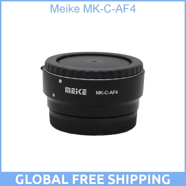 Meike MK-C-AF4 Electronic Auto Focus Adapter for Canon EF EF-S lens for EOS M EF-M mount