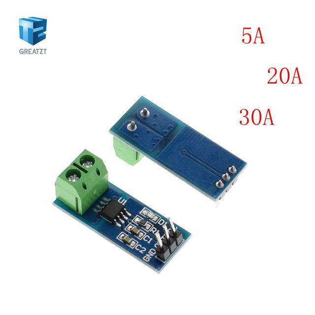 1PCS Hall Current Sensor Module ACS712 module 5A 20A 30A Hall Current Sensor Module for Arduino ACS712TELC- 5A/20A/30A ACS712