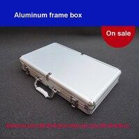 Tool Box Aluminium Alloy Home Storage Box Portable Storage Suitcase Travel Luggage Organizer Case Tools
