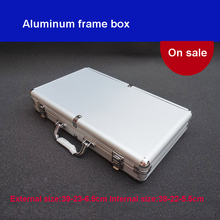 лучшая цена Tool Box Aluminium Alloy Home Storage Box Portable Storage Suitcase Travel Luggage Organizer Case Tools