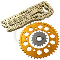 Front Rear Sprocket and 530 Chain Kit For HONDA CBR 1100 XX 1997 2008 98 99 2005