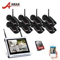 ANRAN 8CH Беспроводная система видеонаблюдения 12