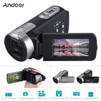 Andoer HDV 312P Video Camera Full HD 1080P Portable Camcorders 16x Zoom 20MP Home Use Digital
