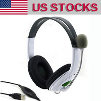 Professional Gaming Headphone Wired Stereo Earphone Headset With Mic Micphone Player For PlayStation 3 PS3 PC