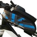 ROCKBROS передняя трубка Сумка водонепроницаемая портативная Мода 5 8 6 0 дюймов велосипедная Передняя балка упаковка аксессуары для велосипеда