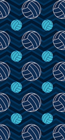 Modern Design Polyester Beach Towel Bath Towel Blue And Tan Chevron Volleyball Fashion Travel Towel 27