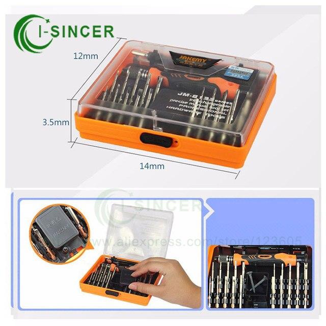 JM-8133 Инструменты Для Ремонта мобильных телефонов 23-в-1 Глубоко Резьбовое Отверстие Отвертка Ремонт Open Tools Kit для Электроники Техника