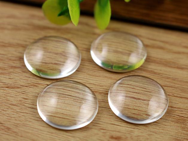10pcs/lot 18mm Round Flat Back Clear Glass Cabochon, High Quality, Lose Money Promotion!!!(Z2-07) 10pcs lot cy2cc8100xi 1 ^