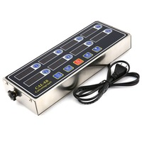 CAL 8B Portable Calculagraph 8 Channel Digital Timer Kitchen Cooking Timing LCD Display Clock Shaking Reminder