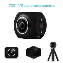 """Мини 360 Камера панорамный двойной угол Wi-Fi рыбий глаз 1 """"Экран рукоять Камера MIC Динамик VR Камера для Android /IOS"""