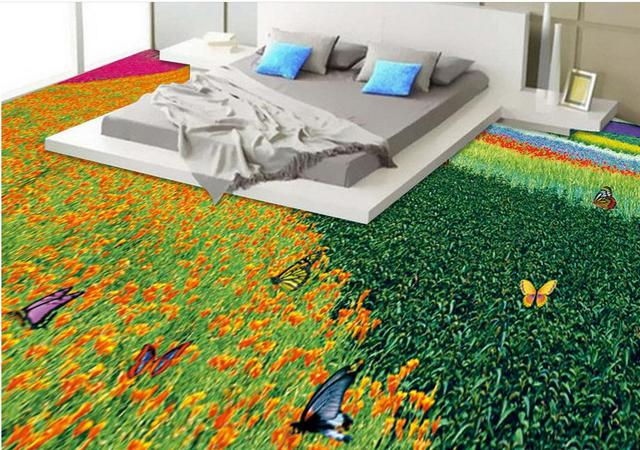 3d floor murals wallpaper custom vinyl sticker roll Natural ...